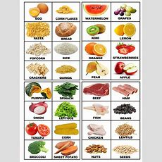 Food Printable Flashcards With Real Food  Food  Food Flashcards, Food Vocabulary, Primary English