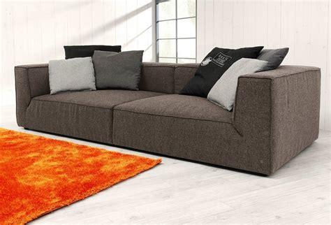 large loveseat tom tailor big sofa 187 big cube 171 wahlweise mit