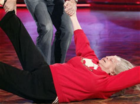 hit the floor yesterday strictly s ann widdecombe puts her back into the samba day night entertainment express co uk