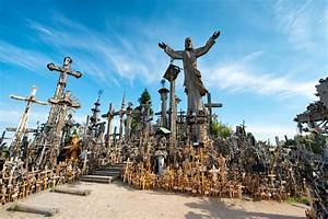 Visit The Hill Of Crosses In Lithuania