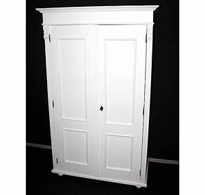Massivholz Kleiderschrank Weiß : kleiderschrank fichte massiv holz weiss lackiert ~ Lateststills.com Haus und Dekorationen