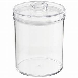 Acrylic Canisters Clear Round Acrylic Canisters The