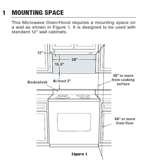 cabinet depth microwave oven over range microwave eatatjacknjills com