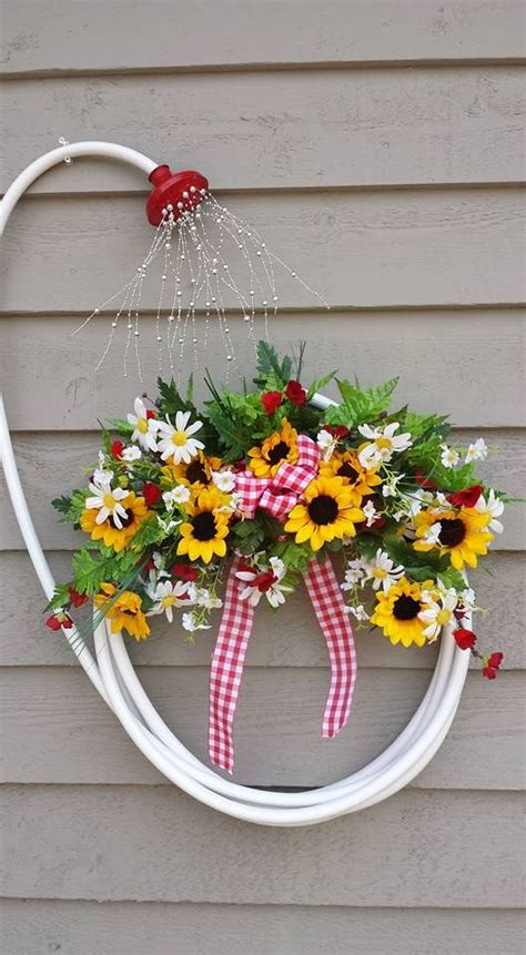 My Garden Hose Wreath Image Only Jan Roberts 2016