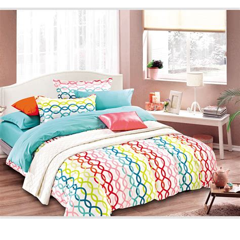 trendy comforter sets trendy and colorful cotton bedding set ebeddingsets