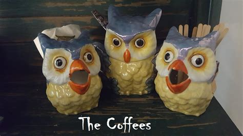 Whether you are wise like an owl, strong like a lion or even a little fancy like a poodle, there is a wide awake coffee beverage flavor that matches you. My Deco Lusterware Owl Coffee Set, Sugar, Creamers ...
