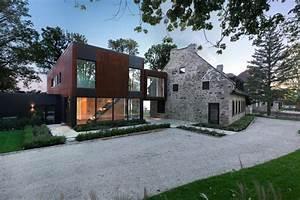 une maison deux epoques trois generations lucie With good extension maison en l 16 les vans de pierres et de bois