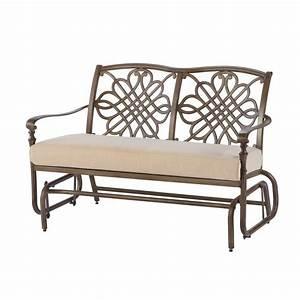 Outdoor metal glider sofa sofa menzilperdenet for Outdoor sectional sofa metal