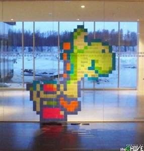 Post It Art : amazing 8 bit post it note art 21 photos thechive ~ Frokenaadalensverden.com Haus und Dekorationen