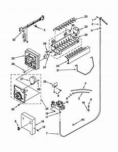 Kenmore 106 Refrigerator Parts Diagram  U2022 Wiring And Engine
