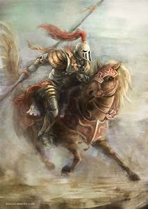 Knight On Horse   ... Knight Picture (2d, fantasy ...