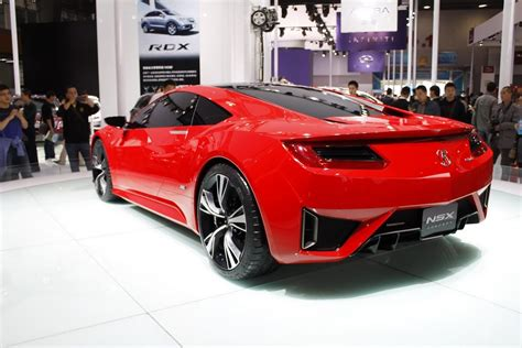 All-new Acura Nsx To Be Built In New Ohio Facility From