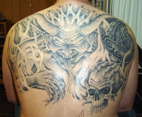 demon tattoo images designs