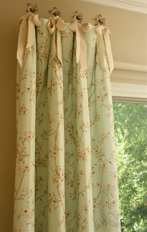 inspiration use drapery quot holdbacks quot to hang curtains
