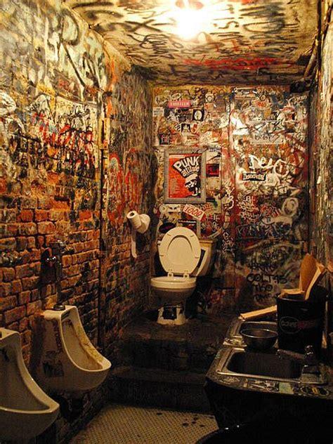 cbgb bathroom punk street art graffiti art