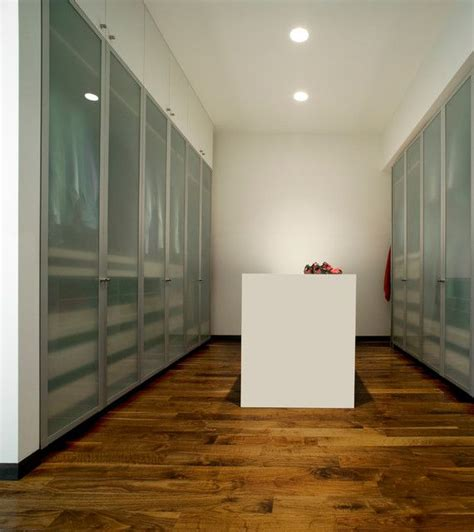 quot custom quot ikea with frosted glass doors modern closets