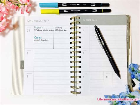 planners for college students best planners for college students the best school