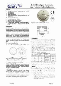 Gst Addressable Smoke Detector Wiring Diagram