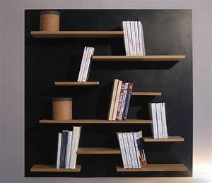 Bibliothèque Murale Bois : les 25 meilleures id es de la cat gorie tag res suspendus ~ Premium-room.com Idées de Décoration