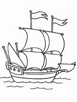Ship Coloring Pages Transportation Advertisement sketch template