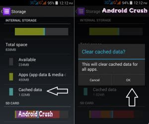 cache cleaner for android tablet how to clear cache on android smartphone or tablet