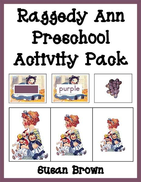 raggedy preschool activity pack warm hearts publishing 615 | Raggedy Ann Preschool Activity Pack cover 2 web