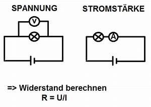 Spannung Am Widerstand Berechnen : stromst rke und widerstand in abh ngigkeit von spannung ~ Themetempest.com Abrechnung