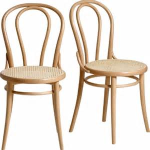 Cannage Chaise Bistrot by Chaise Bistrot Bois Thonet