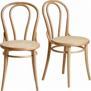 Chaise Rotin La Redoute : chaise bistro cannage ~ Teatrodelosmanantiales.com Idées de Décoration