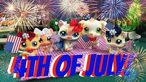 LPS- USA Independence Day- 4th Of July Celebration- (Skit ...
