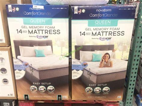 novaform mattress reviews novaform comfort grande with evencor mattress