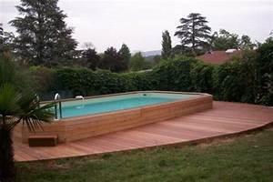 Achat Piscine Hors Sol : galerie photos montage piscine octogonale monter son ~ Dailycaller-alerts.com Idées de Décoration