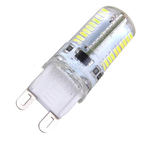 dimmable g9 3w white warm white 3014smd led bulb silicone