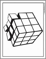 Coloring Geometric Pages 3d Illusion Print Optical Cube Cubes Shapes Designs Detailed Drawing Customize Clipart Clipartmag Designlooter Three 762px 41kb sketch template
