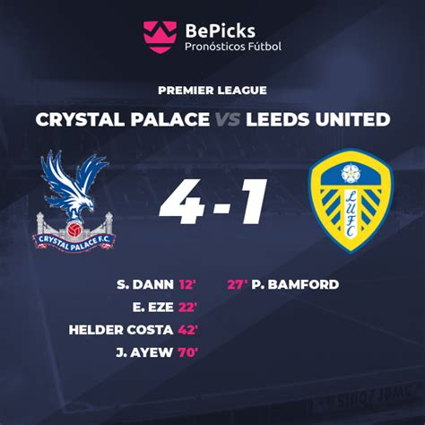 This crystal palace live stream is available on all mobile devices, tablet, smart tv, pc or mac. Crystal Palace vs Leeds United - Pronósticos, cuotas ...