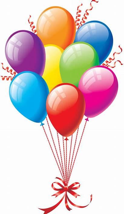 Clipart Ballon Ballons Fete Multicolores Multicolore Renders