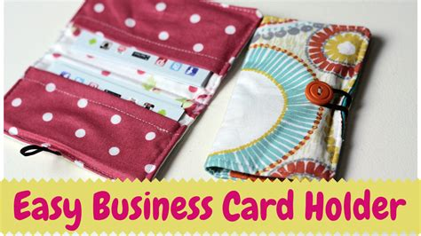 Diy Business Card Holder- Video Tutorial Business Coaching Images For Powerpoint Card Designs Photos Desk Moo Cards Multiple Killer Dress Roofing Ideas