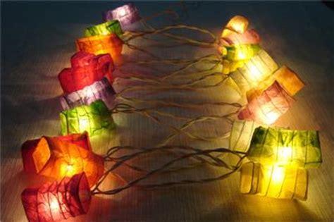 paper lantern 3m string lights thai