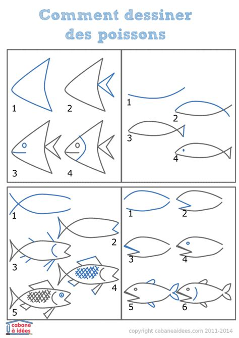 comment dessiner un ladaire comment dessiner des tas de poissons cabane 224 id 233 es