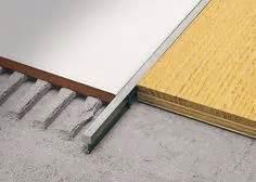joint de dilatation entre carrelage et parquet en bois acceptant forme courbe mod 232 le covertec