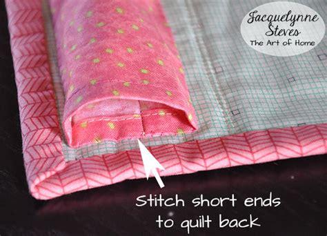 how to make a hanging l how to make a hanging sleeve for a quilt jacquelynne steves