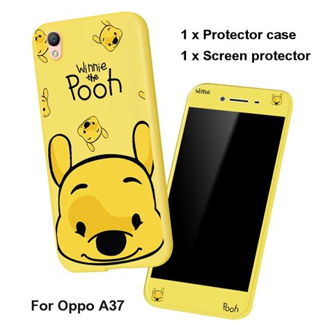 OPPO A37 / A37M / A37F With Cute Glass cover mobile phone