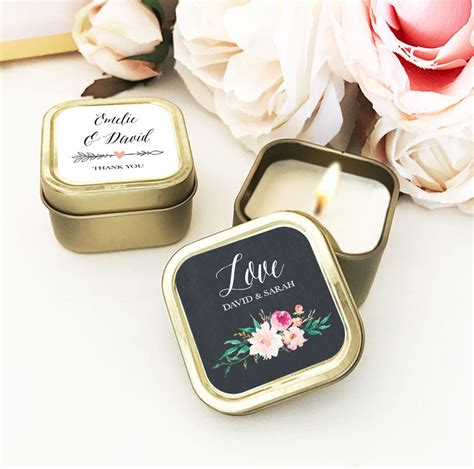 Personalized Wedding Favor Candle Wedding Favors For