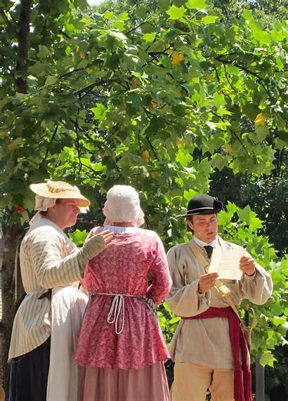 Colonial 1700s Clothing Century 18th Dressed Wore