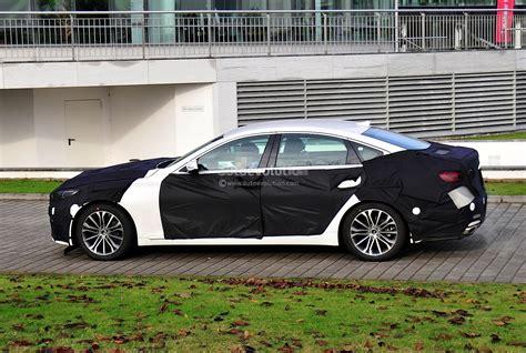 2014 Genesis Sedan by Spyshots 2014 Hyundai Genesis Sedan Autoevolution