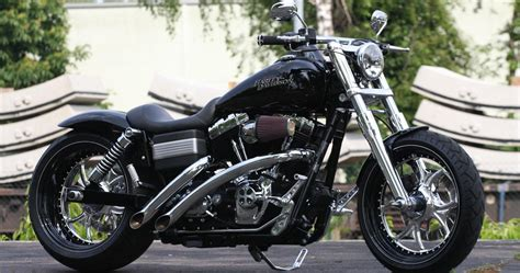 Thunderbike Gothic • H-D Street Bob FXDB Custom Motorcycle