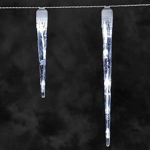 Eiszapfen Lichterkette Außen : konstsmide led eiszapfen lichterkette 32 led eiszapfen kaltweiss ~ Watch28wear.com Haus und Dekorationen