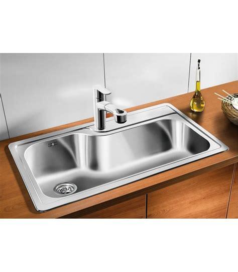 accessori lavello cucina lavello rettangolare da cucina acciaio inox blanco plenta