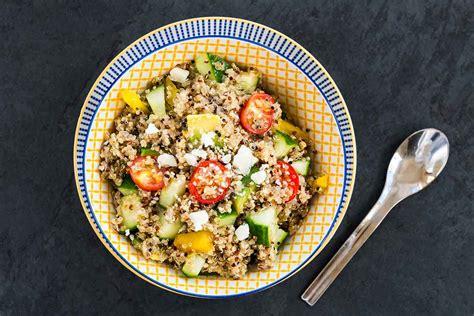 Kvinojas salāti | Receptes