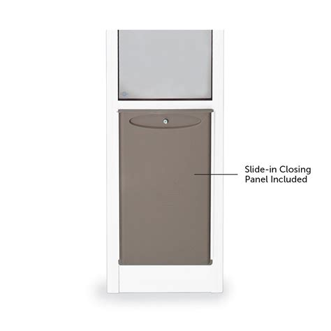 petsafe freedom aluminum patio panel sliding glass pet